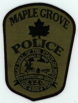 Maple Grove Police Swat Subdued Minnesota Mn Patch Sheriff