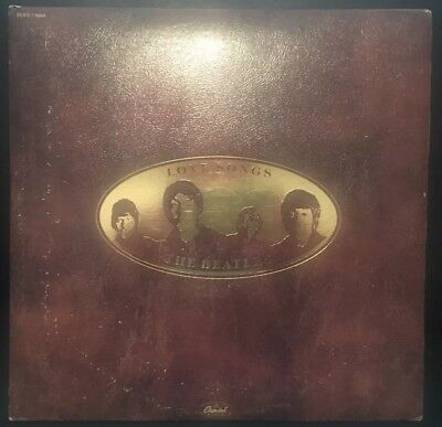 The Beatles Love Songs On 2 GOLD Vinyl Discs OOP Contains Booklet 1977