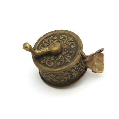 Antique Sewing Tape Measure Brass