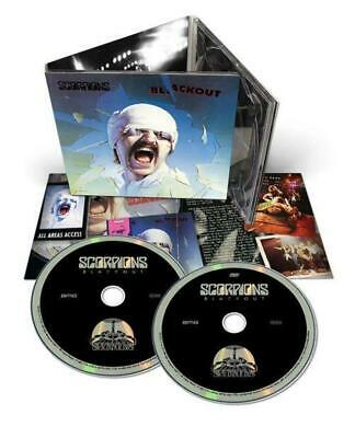 Scorpions - Blackout (50th Ann. Deluxe Ed. CD/DVD w. 4 bonus tracks) (R0) - CD -