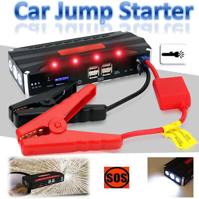 12V 68800mAH Vehicle Car Jump Starter Booster Charger Battery Power Bank Jumper