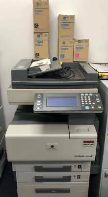Second hand, used printer scanner with 5 free toners BIZHUB C350