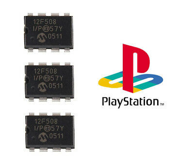LOT OF 3 Mayumi v4 Modchips for PlayStation (PS1/PSone/PSX)