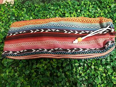 Drawstring Bag Dowsing Rods Divining L-Rods Aztec Mexican Style