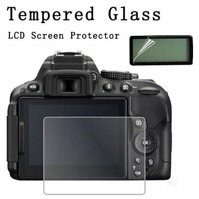 Tempered Glass LCD Screen Protector for Canon EOS 6D 70D 80D Camera