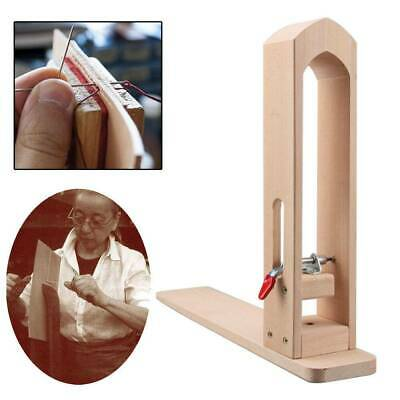 Wood Tabletop Lacing Sewing Pony Horse for DIY Hand Stitching Leathercraft Tools