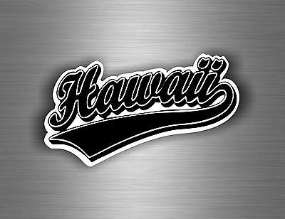 Sticker car motorrad hawai flag surf usa american decoration r1