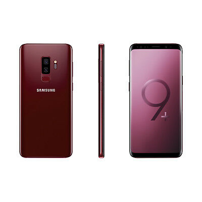 New Samsung Galaxy S9 Plus 128GB Dual Sim Unlocked Red - Next Day Delivery