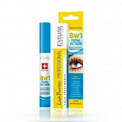 Professional Eveline 8 In 1 Total Action Concentrated Eyelash Serum Uk