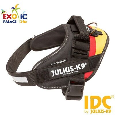 Julius-K9 Idc Powerharness Flag Germany Flag Harness For Dog Nylon