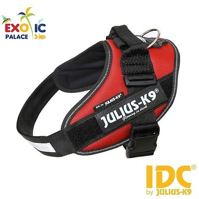 Julius-K9 Idc Powerharness Bordeaux Harness For Dog Nylon Resistant Dog