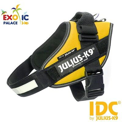 Julius-K9 Idc Powerharness Yellow Sun Harness For Dog Nylon Resistant Dog