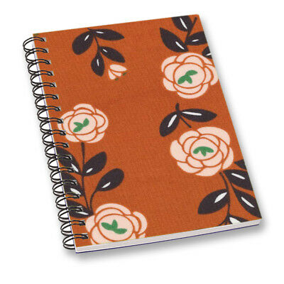 Floral Notebook Diary Journal Office School Stationary Daily Planner Notepad