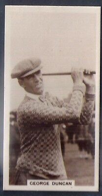 Millhoff-Famous Golfers Golf-#14- George Duncan