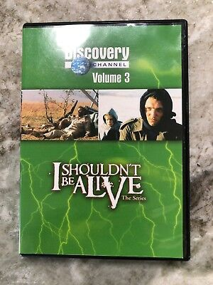 I SHOULDN'T BE Alive Season 1 (one) 5 DVD Box Set Discovery