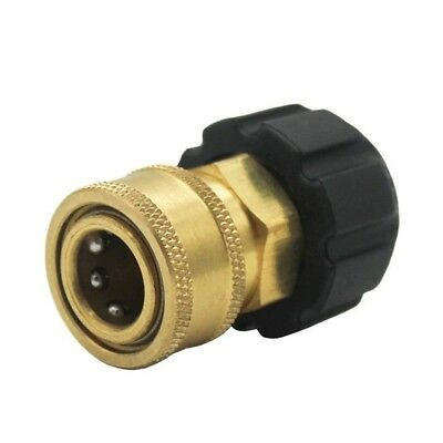 3/8inch Quick Connect NPT to M22 14mm Metric Fitting for High Pressure Washer R6