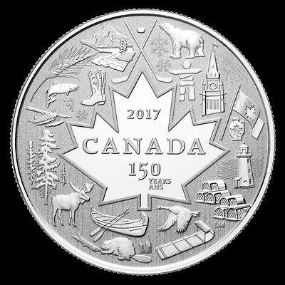 CANADA 2017 Heart of Our Nation $3 Pure Silver Coin 150th Anniversary