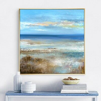 YA711 Modern 100% Hand-painted oil painting Scenery on canvas Home decoration