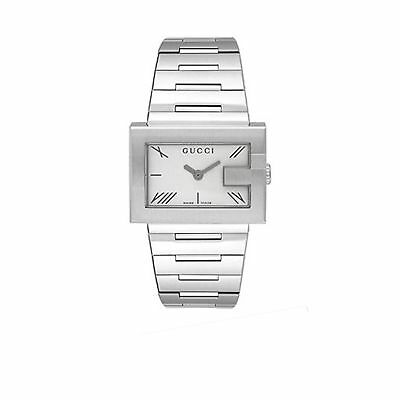 341334f0226 GUCCI YA100506 STAINLESS Steel 100L Series Silver Tone Women s Watch ...