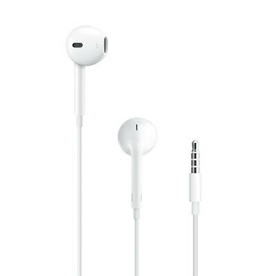Authentic OEM Apple Earpods iPod Touch 3.5mm Jack Headphones (No Remote & Mic)