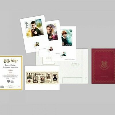 Harry Potter™ Limited Edition Souvenir Art Collection a4 Stamp collection RARE