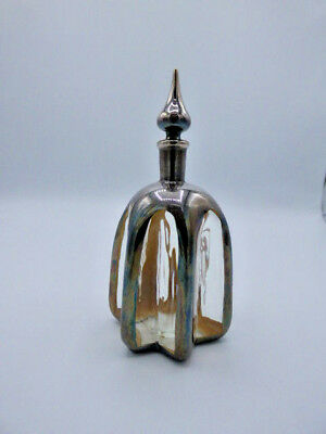 Asprey Sterling Silver Perfume Bottle