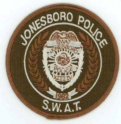Jonesboro Arkansas Ar Police Swat Patch Sheriff