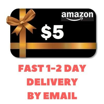 5 Amazon Gift Card Fast Email Delivery 1 3 Day No Expiration Date 11 99 Pic