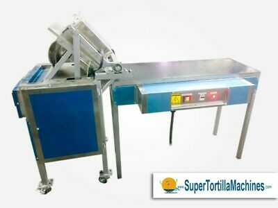 T3500 All Electric Automatic Flour Tortilla Machine with Manual Grill