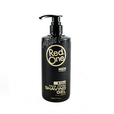Red One Shaving Gel Platinum Black Series - 500 ml - Easy Pump