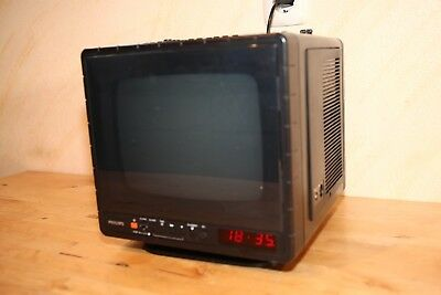 Philips Entertainer Typ 9TC 2100/02R, Radio, Röhrenfernseher TV, Kassette