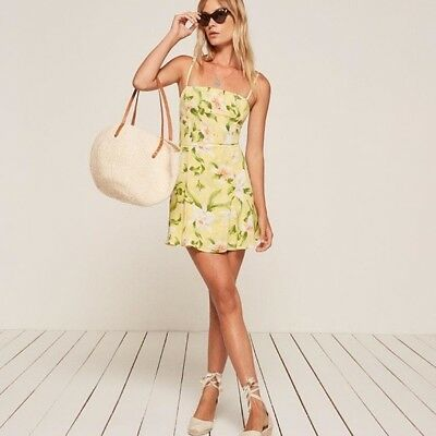 7f1d5b609be8 NWT REFORMATION INGA Mini Dress Size Xs Oopsie Daisy Floral $78.00 ...