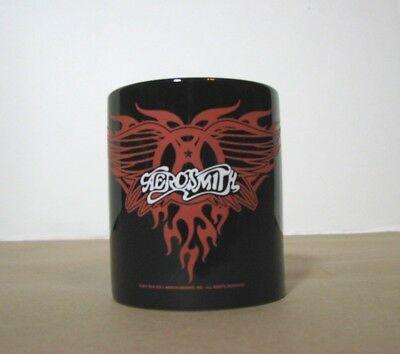 Aerosmith Coffee Tea Mug Black Red M Ware Cup Rock Band