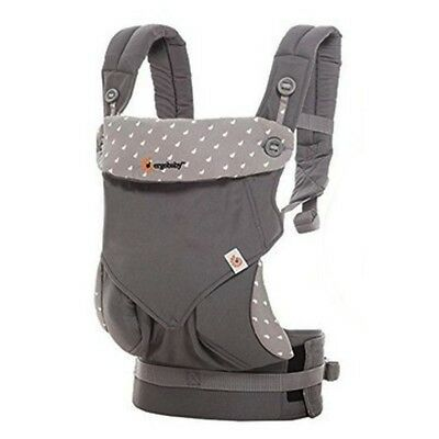 NEW Ergobaby 360 4 Position Baby Carrier + teething pads