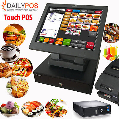 Simple Touch POS System Restaurant Cafe Pizza Fish Chips Takeaway Cash Register