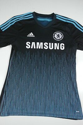 finest selection 5087f d563d ADIDAS CHELSEA FC Soccer Jersey Mens Size M Samsung Black blue