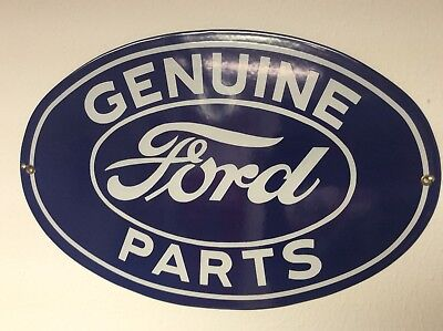 Ford Genuine Parts Sign