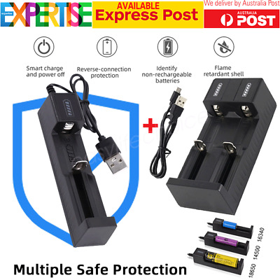 Rechargeable Battery Charger for 4.2v/3.7V Lithium Battery with USB Port Cable