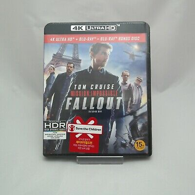 Mission: Impossible - Fallout (2018) DVD, Blu-ray, 4K UHD / Choose one!