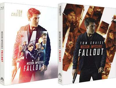 Mission: Impossible - Fallout (Blu-ray, 4K UHD) Full Slip Case Steelbook Limited