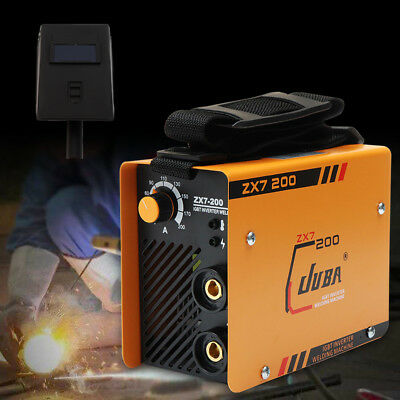 220V ZX7-200 MMA ARC Welder DC IGBT Welding Machine Soldering Inverter+Mask Kit