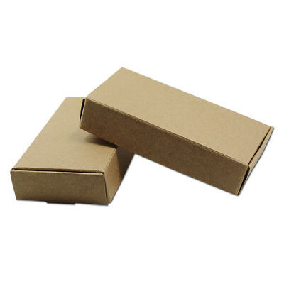 Many Size Kraft Paper Box Wedding Party Gifts Candy Jewelry Brown Package Boxes