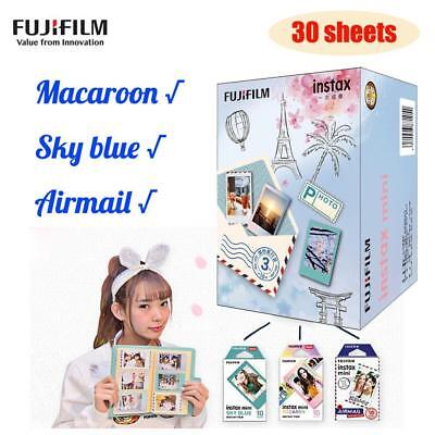 NEW 30 Sheets Photo Film Paper Snapshot for Fujifilm Instax Mini 9✅7s✅25✅50s✅90