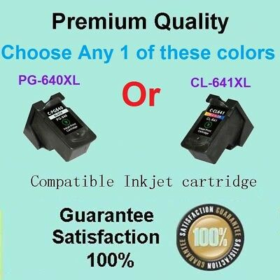 Any 1 x Compatible Canon PG640XL CL641XL Ink Cartridge for MG2160/2260/3160/3260