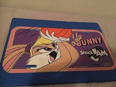 """WB Lola Bunny Space Jam License Plate .  """"BUY 2 GET 1 FREE"""""""