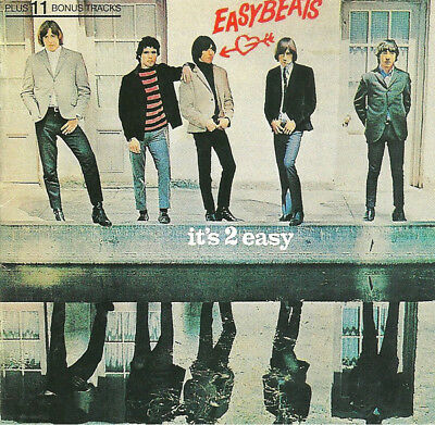 Easybeats It's 2 Easy 11 Extra Tracks CD NEW unsealed