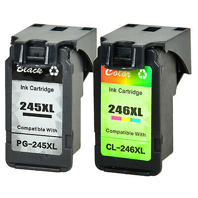 PG245XL 246XL BK & Color Ink Cartridge for Canon PIXMA MG2420 MG2922 2924 MX490