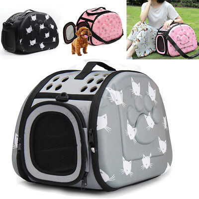 Large Pet Dog Cat Portable Travel Carry Carrier Tote Cage Bag Crates Box Holder