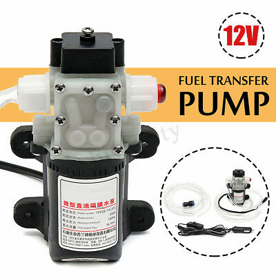 12V Fuel Transfer Pump Oil Diesel Gas Gasoline Kerosene Car Tractor Truck 4L/min