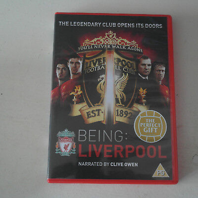 DVD Being Liverpool (DVD, 2012) Brendan Rogers